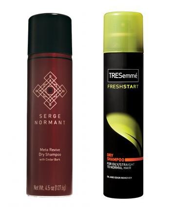 dry shampoo trials