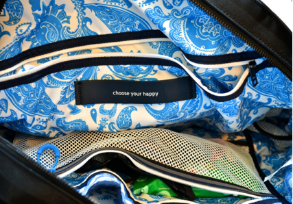 inside lululemon gym bag