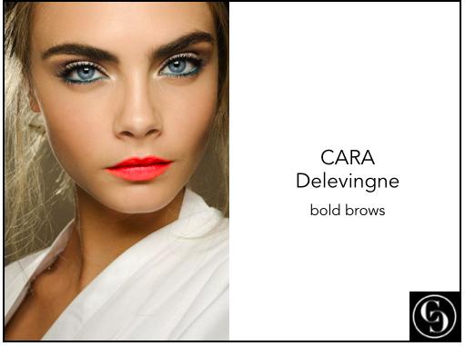 bold brows - cara delevingne