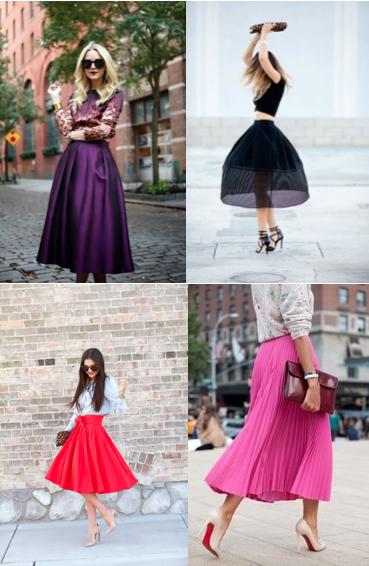 midi skirt trend