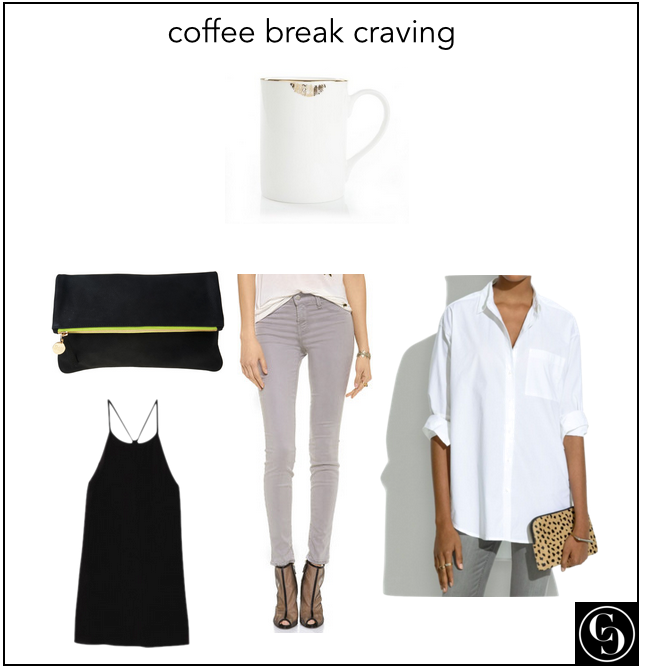 coffee break craving
