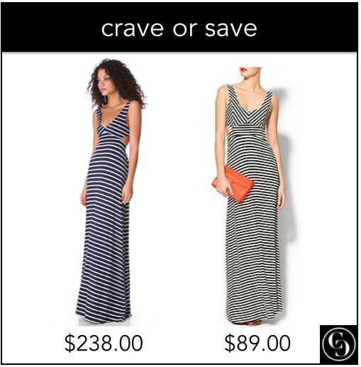 crave or save: cutout maxi