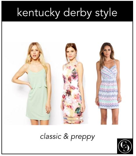 kentucky derby style - classic preppy