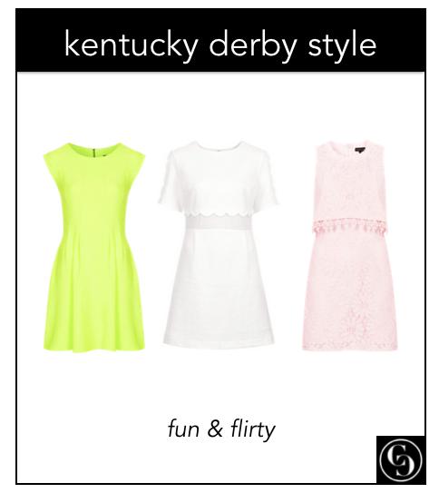 kentucky derby style: fun and flirty