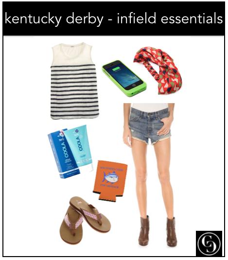 ky derby infield essentials