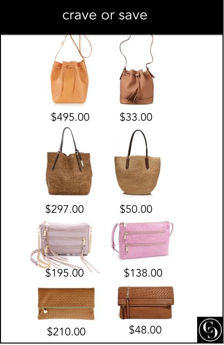 crave or save spring handbags