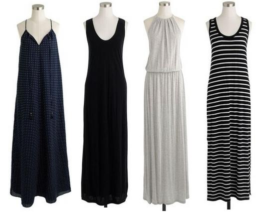 jcrew maxi dress