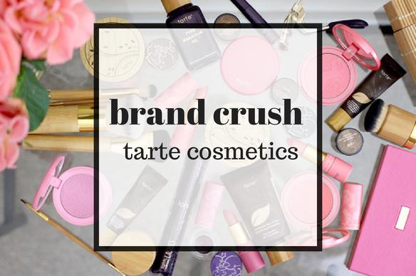 brand crush - tarte cosmetics